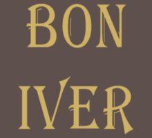 BON IVER Logo (SALE!) One Piece - Short Sleeve