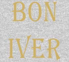 BON IVER Logo (SALE!) Kids Clothes