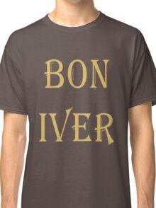 BON IVER Logo (SALE!) Classic T-Shirt