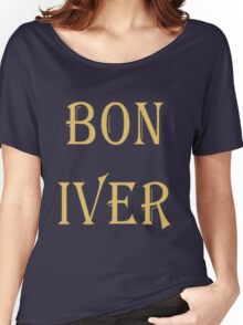 BON IVER Logo (SALE!) Women's Relaxed Fit T-Shirt