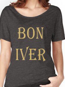 BON IVER Logo (SALE!) Women's Relaxed Fit T-Shirt