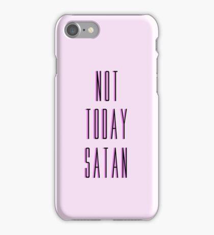 """Not today satan"" - Bianca Del Rio (Ru Paul's Drag Race) iPhone Case/Skin"