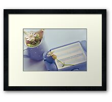 .freshly hatched. Framed Print