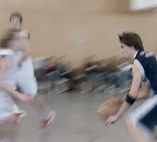 basketball action by robertschlund