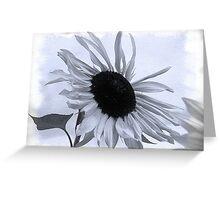 Sunflower Cyanotype Greeting Card