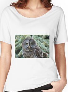 Grey Owl  Women's Relaxed Fit T-Shirt