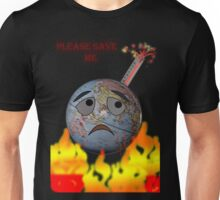 Earth and global warming Unisex T-Shirt