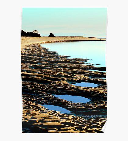 VALLA BEACH INLET Poster