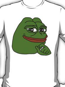 smug frog/sad frog v2 T-Shirt