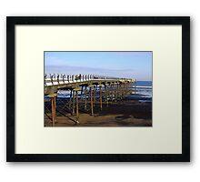 The Pier Saltburn Framed Print