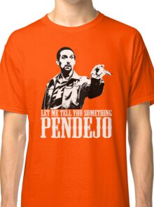 Jesus The Big Lebowski T shirt Let Me Tell You Something Pendejo  Classic T-Shirt