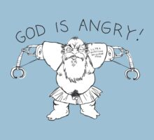 god is angry by Paul McClintock