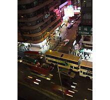 argygle street, mongkok Photographic Print