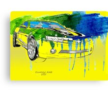 Bumblebee Transformers Cavarro Car Canvas Print