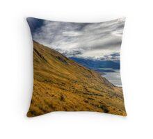 Golden Otago - New Zealand Throw Pillow