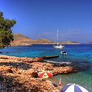 The Pier at Ftenagia by Tom Gomez