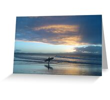 ~ Byron Beauty ~ The Pass, Byron Bay Greeting Card