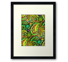 Paisley Princess Framed Print