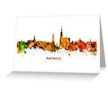 Antwerp Skyline Greeting Card