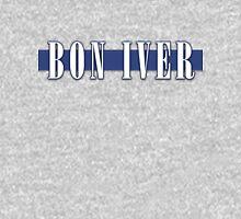 BON IVER - Stripe Logo  T-Shirt