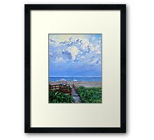 'The Beach at Wild Dunes (After the Storm)' Framed Print