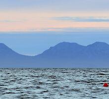 Isle of Jura at Sunset by Maria Gaellman
