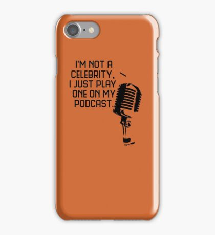 Podcast Celebrity iPhone Case/Skin