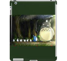 Totoro's Stroll in the Rain iPad Case/Skin