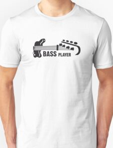 bASS pLAYER Unisex T-Shirt