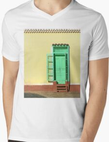 Technicolor social club  Mens V-Neck T-Shirt