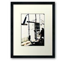 Penang Shadows Framed Print