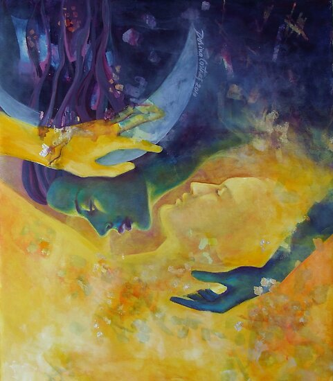 """The beginning of the end - from """"Impossible love"""" series by dorina costras"""