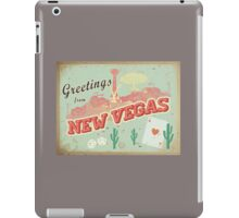 New Vegas Postcard iPad Case/Skin