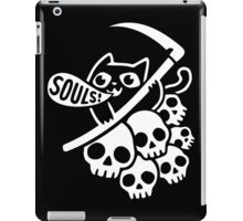 Cat Got Your Soul? II iPad Case/Skin