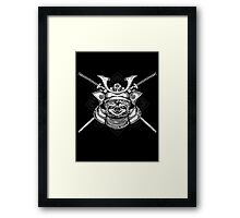 Samurai Sloth Framed Print