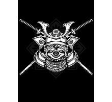 Samurai Sloth Photographic Print