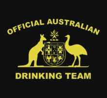 AUSTRALIAN DRINKING TEAM One Piece - Short Sleeve