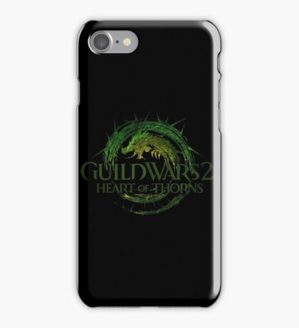 Guild Wars 2 Heart of Thorns iPhone Case/Skin