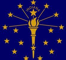 Indiana Murican Patriot Flag Series Sticker