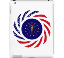 Indiana Murican Patriot Flag Series iPad Case/Skin