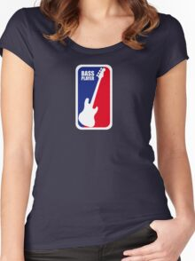 bASS pLAYER 2.0 Women's Fitted Scoop T-Shirt