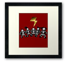It Was The Storm Framed Print