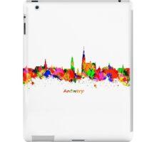 Antwerp Watercolour Skyline iPad Case/Skin