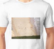 Walk on the beach - Near Malin Head in North Donegal Ireland Unisex T-Shirt
