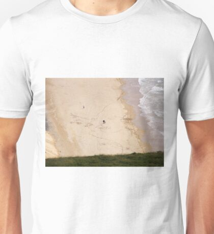 Walk on the beach - Near Malin Head in North Donegal Ireland Unisex T-Shirt