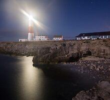 Portland Bill Nightscape by Ian Middleton