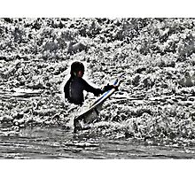 In the waves Photographic Print