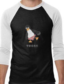 Tucks the penguin Men's Baseball ¾ T-Shirt