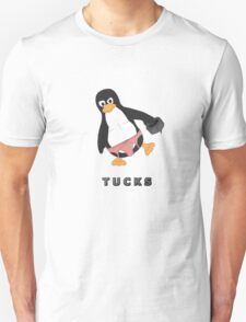 Tucks the penguin Unisex T-Shirt