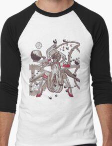 Professional Black Widow Men's Baseball ¾ T-Shirt